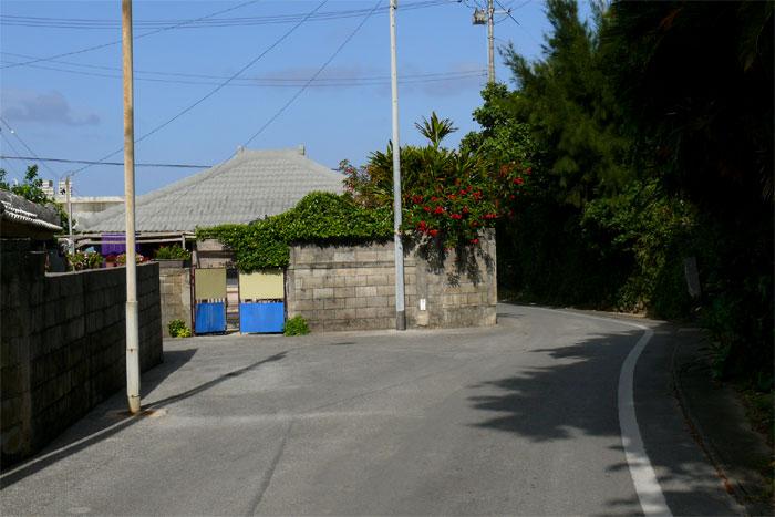 沖縄 浜比嘉島の街並