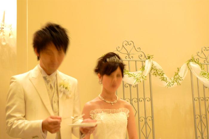 結婚式 失敗写真