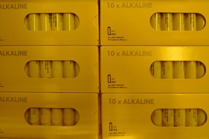IKEAの電池