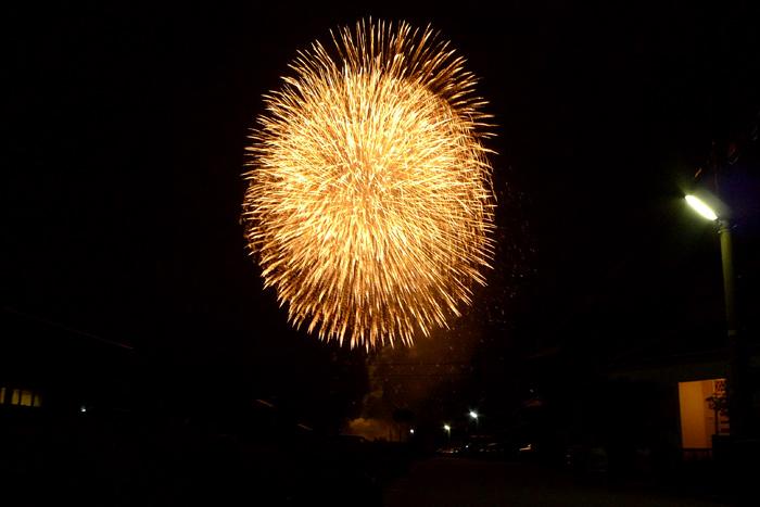 金沢の花火