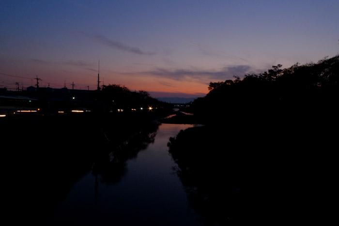 夕日を見るところ