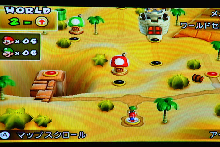 Wiiでマリオ
