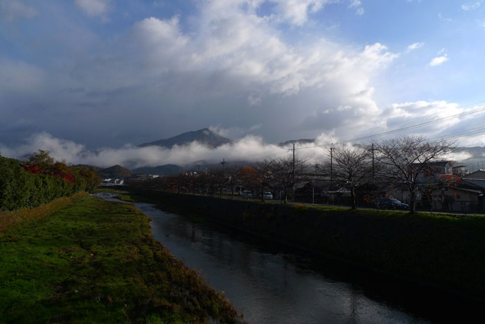 雨上がりの高野川