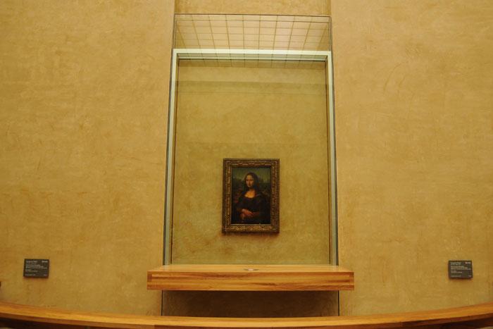 ルーヴル美術館 モナリザ