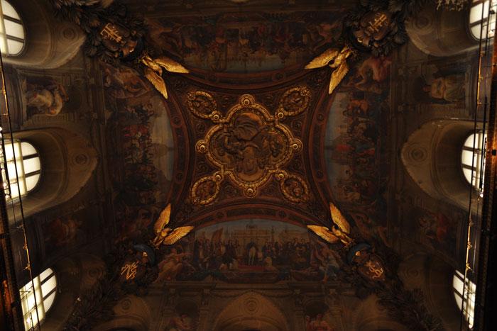 ルーヴル美術館 天井