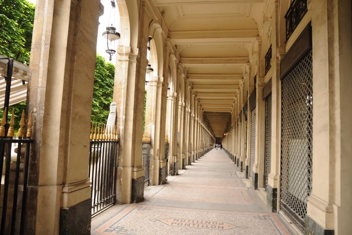 パレ・ロワイヤルの回廊