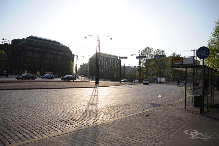 ヘルシンキの街並