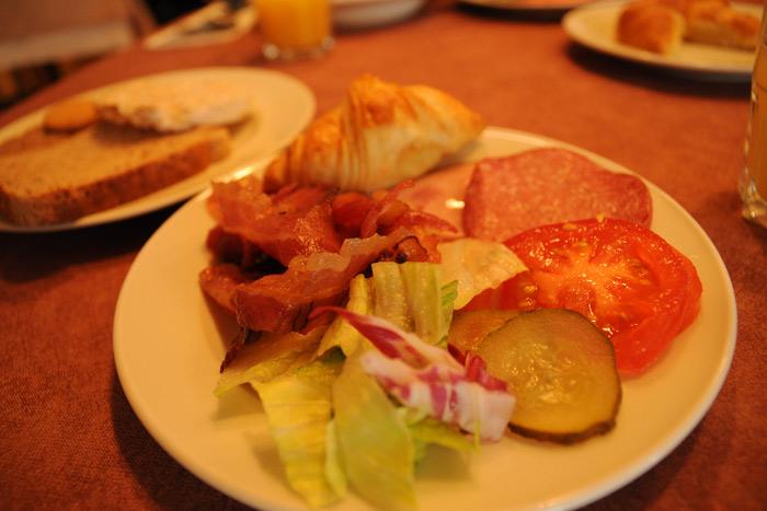 ヘルシンキの朝食