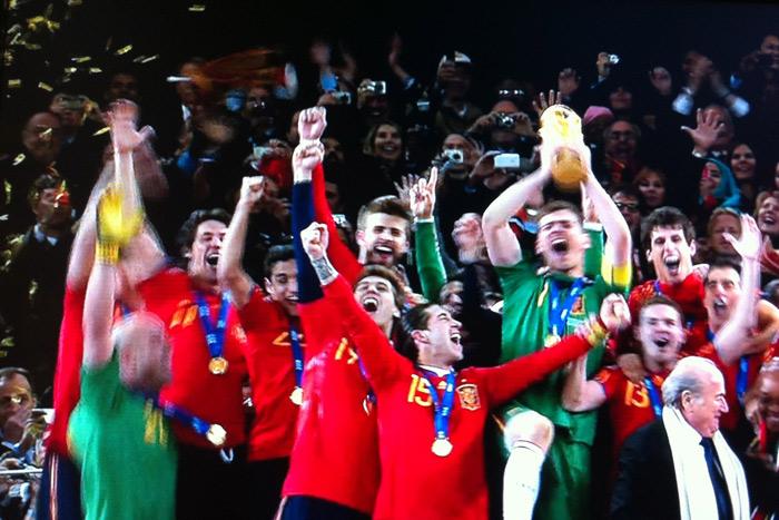 スペイン優勝!