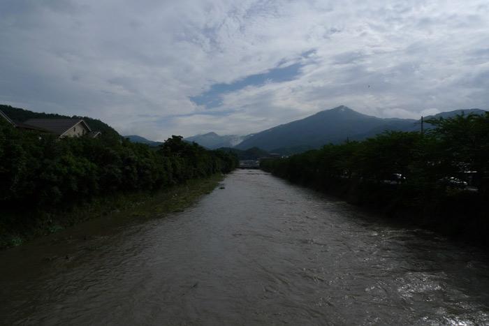 高野川大暴れ