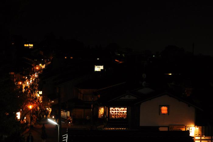 高台寺からの夜景