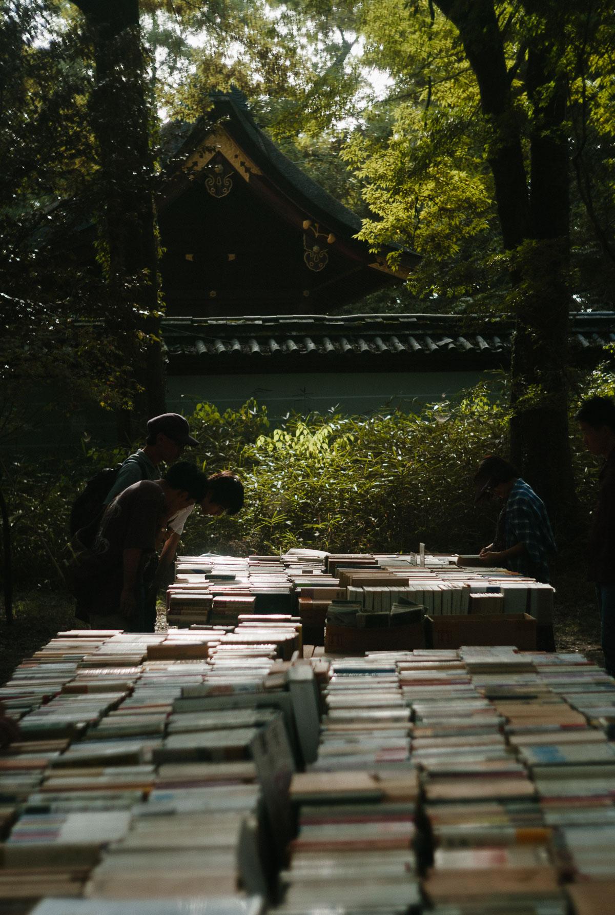 古本まつり@下鴨神社 糺の森