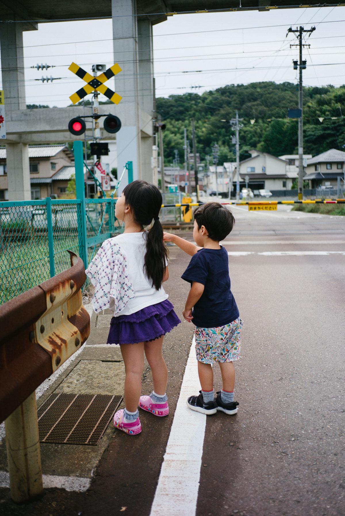 金沢の踏切