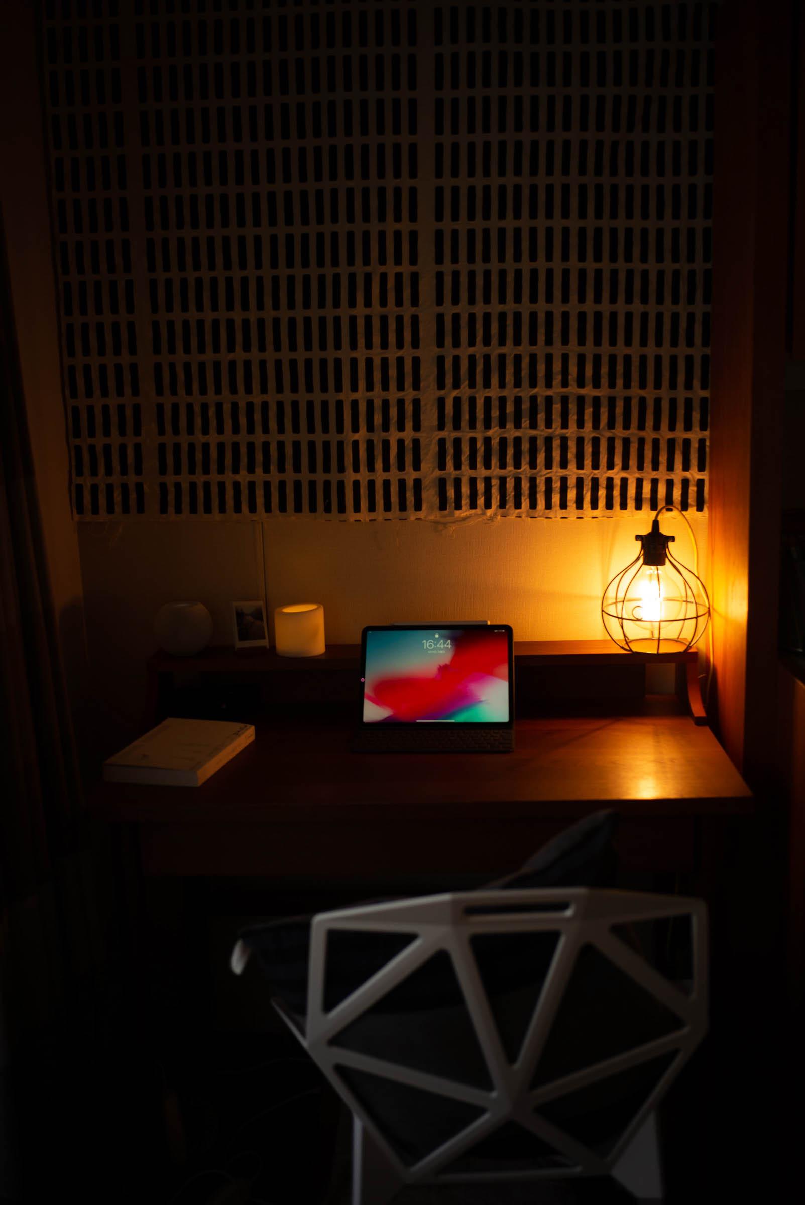 リビングの書斎